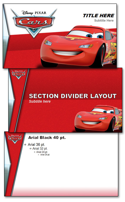 Pixar cars template the powerpoint blog pixar cars template toneelgroepblik Gallery