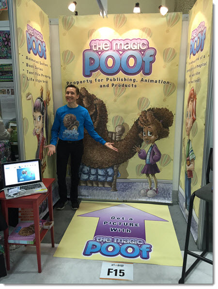 Magic Poof Tradeshow Booth