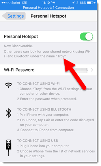how to change iphone hotspot name iphone hotspot fix for windows 10 the powerpoint 18625