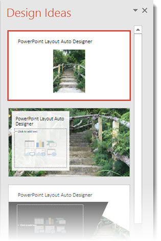 how to turn off powerpoint 2016 auto layout designer the
