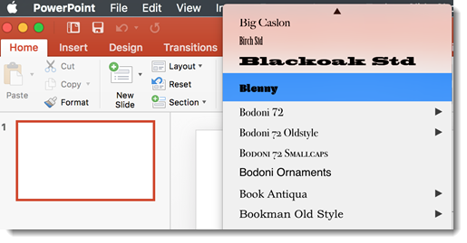 Using Adobe Typekit Fonts | The PowerPoint Blog