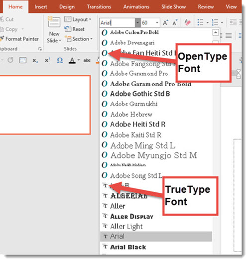 Fonts You Can and Can't Use in PowerPoint | The PowerPoint Blog