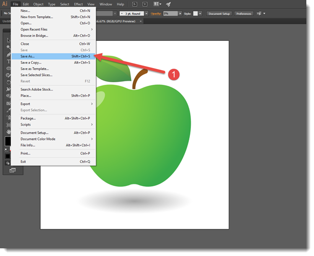 Creating g images in adobe illustrator for powerpoint the change the file to svg in the drop down toneelgroepblik Images