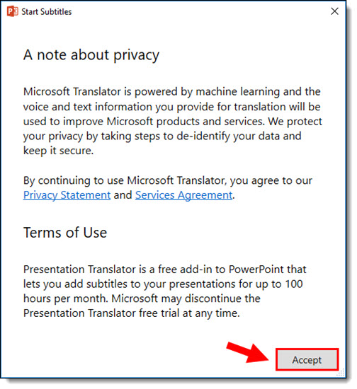 Presentation Translator 2