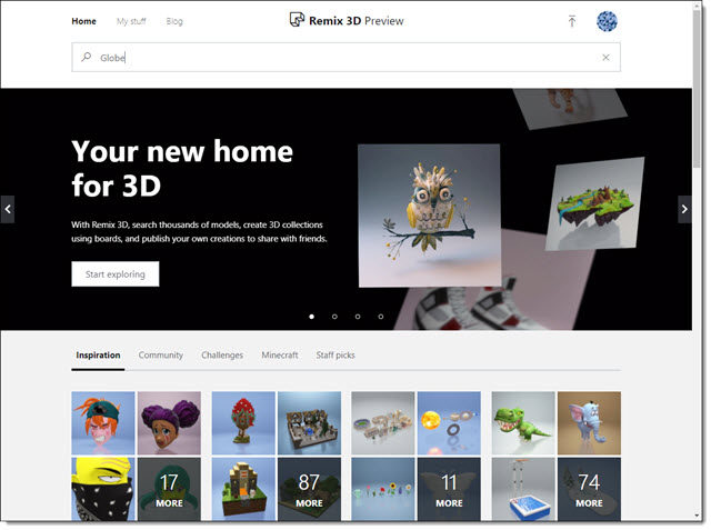 Microsoft Remix3D for 3D Models | The PowerPoint Blog