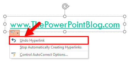 turn off text hyperlink 6